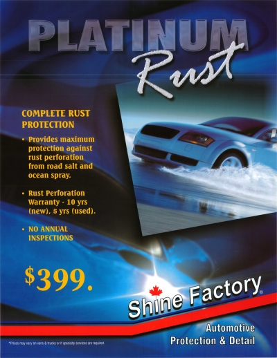 Platinum Rust Protection
